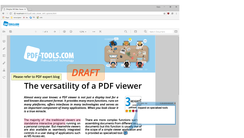 3-Heights™ PDF Web Viewer - more than just a document viewer