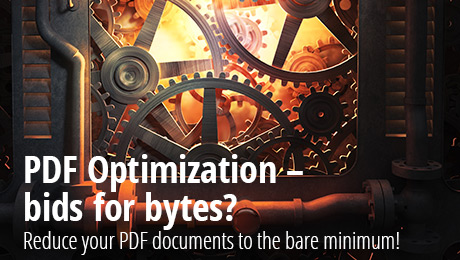Banner for PDF Optimization landing page - why and how to reduce your file sizes
