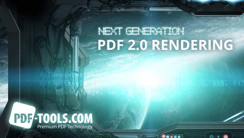 PDF Rendering 2.0 - next generation graphic engine for PDF